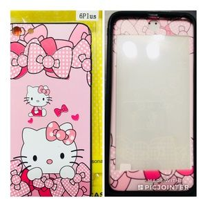 Hello Kitty pink Phone case for 6s plus